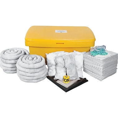 Zenith Safety 97-Gallon Spill Kits, Oil Only, With Locker
