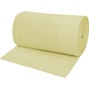 Zenith Safety – Rouleaux absorbants tissés, universel, lourd, 150 long. (pi) x 30 larg. (po)