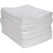 Feuilles absorbantes en fibres fines, 100/paquet