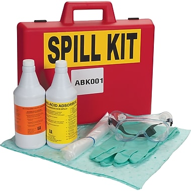 Zenith Safety Lab Acid/Base Spill Kit