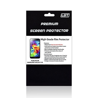 LBT High Definition Screen Protector for Samsung Galaxy S5