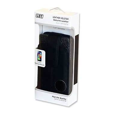 LBT Samsung Galaxy S5 Leather Holster Pouch for Gel Skin