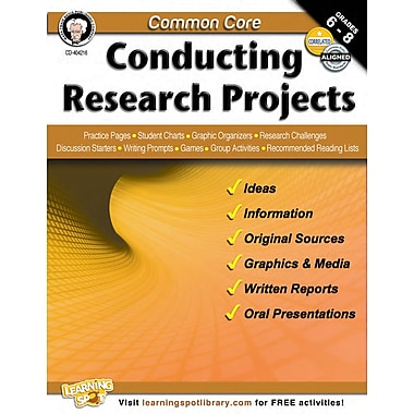 Carson-Dellosa Common Core Conducting Research Projects (404216)