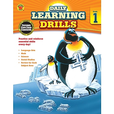 Carson-Dellosa Daily Learning Drills Books, Grade 1 (704392)