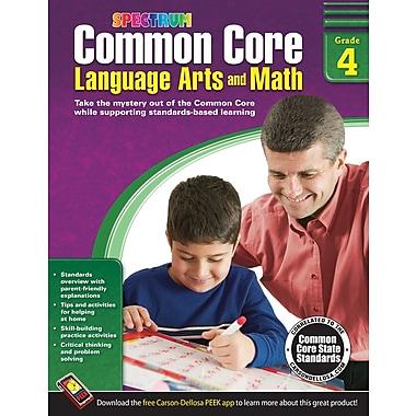 Carson-Dellosa Common Core Language Arts and Math Resource Book, Grade 4 (704504)