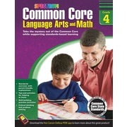 Common Core Language Arts and Math Resource Book Grade 4