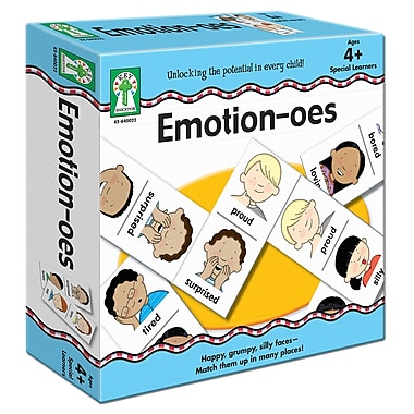Carson-Dellosa Key Education Emotion-oes Board Game (840022)