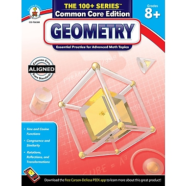 Carson-Dellosa Geometry , Grade 8-10 (704388)
