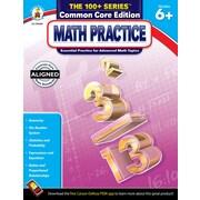Math Practice Workbook, Grades 6+