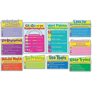 Carson-Dellosa Common Core Math Strategies Bulletin Board Set (110252)