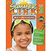 Math Plus Reading Workbook, Carson Dellosa Workbook Grades 2-3