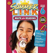 Math Plus Reading Workbook, Carson Dellosa Workbook Grades 5-6