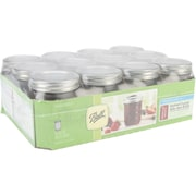 Loew-Cornell  Ball Quilted Crystal Jar 12/Pack 8 Oz
