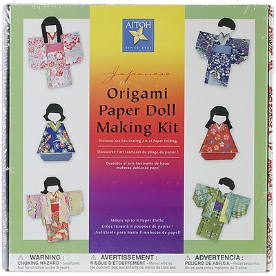 Aitoh Aitoh Kimono Doll Paper Kit