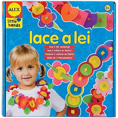 """""Alex Toys Early Learning Lace A Lei -Little Hands 10"""""""""""""" 1056817"