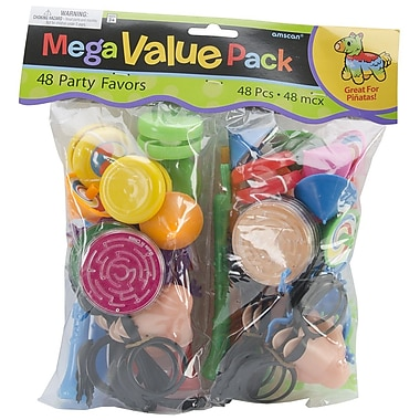 Amscan Plastic AMSCAN Assorted Pinata Party Favor