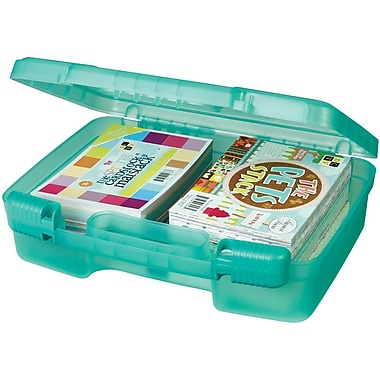 ArtBin Quickview 6989AB Transculent Teal Carrying Cases, 9.88