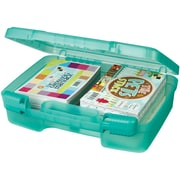 """ArtBin Quickview 6989AB Transculent Teal Carrying Cases, 9.88"""" x 12"""" x 3.25"""""""