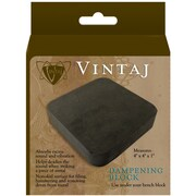 "Beadsmith  Rubber Dampening Block for Beading 4"" x 4"""