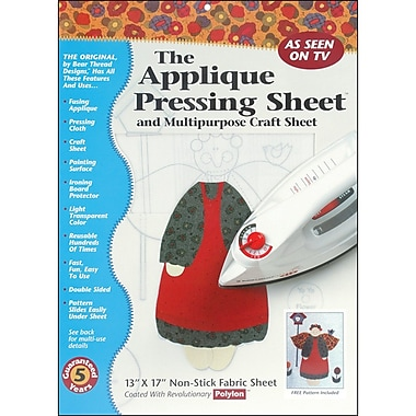 Bear Thread 10206 Applique Pressing Sheet, 17