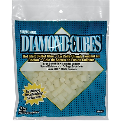 FPC FPC Diamond Cubes Hot Melt Skillet Glue