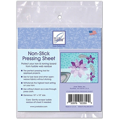 June Tailor Non Stick Pressing Sheet 18 x 18