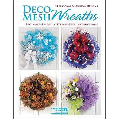 Leisure Arts Deco Mesh Wreaths