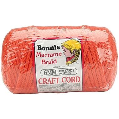 Pepperell Polyolefin Fiber Pepperell 6mm Bonnie Macrame Craft Cord 100 Yards