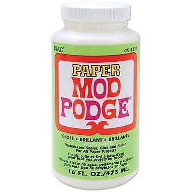 Plaid:Craft CS11239 Mod Podge Paper Glue, 16 oz.
