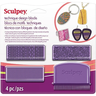 Polyform Sculpey Technique Design Blocks 7.75