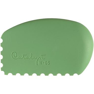 Princeton Art & Brush Silicone Wedge Tool Green 4.8