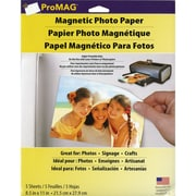 "ProMag  Magnetic Photo Paper 8.5"" x 11"""