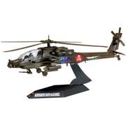 Revell  Plastic Model Kit-AH-64 Apache Helicopter Desktop