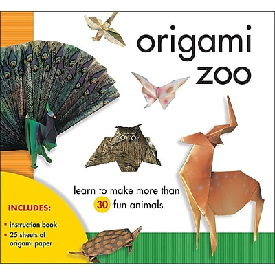 Sterling Publishing Paper Origami Zoo Kit