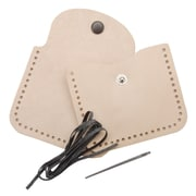 """Tandy Leather Factory 4107 Beige Small Change Coin Purse Kit, 3.25"""" x 3"""""""