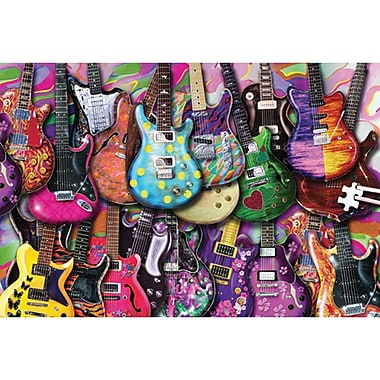 TDC Games Jigsaw Puzzle 1000 Pieces Six String Fling 19