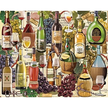 White Mountain Puzzles Wine Country - 1000 Piece Jigsaw Puzzle 24