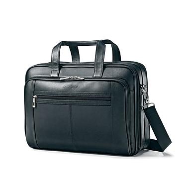 Samsonite Leather Checkpoint Friendly Briefcase