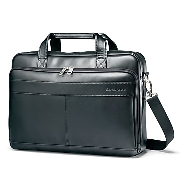 41d8d0e1e077 Samsonite Leather Luggage Leather Slim Briefcase 16