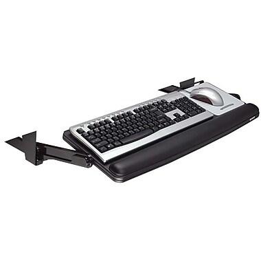 3M – Tiroir ajustable pour clavier sous le bureau, noir (KD90)
