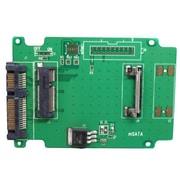 Aleratec – Carte adaptateur mSATA SSD vers SATA 350118 de 50 mm, 2/paquet