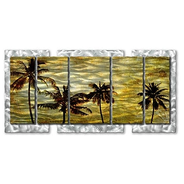 All My Walls 'A Warm Afternoon' by Ash Carl Designs Graphic Art Plaque
