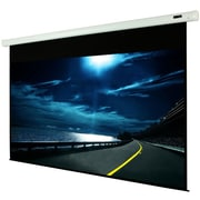 "EluneVision Luna Motorized Screen, 128"", High Contrast Cinema Gray Material, 16:9"