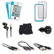 DreamGEAR – Trousse d'accessoires 12-en-1 pour iPhone 4/4S