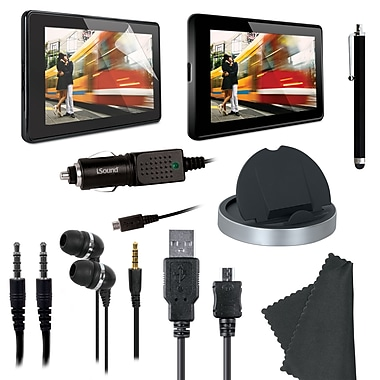 DreamGEAR Essentials Kit - 9 Essential Items for Kindle Fire