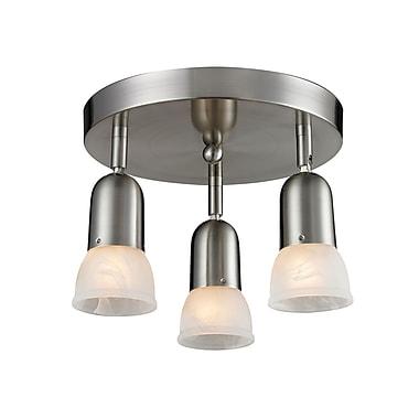 Z-Lite Pria (221) 3 Light Semi Flush Mount Light, 11