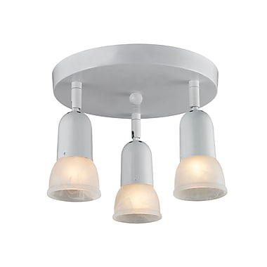 Z-Lite Pria (222) 3 Light Semi Flush Mount Light, 11