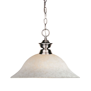 Z-Lite Riviera (100701BN-WM16) 1 Light Pendant Light, 16