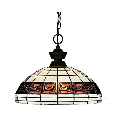 Z-Lite (100701BRZ-F14-1) 1 Light Pendant, 14