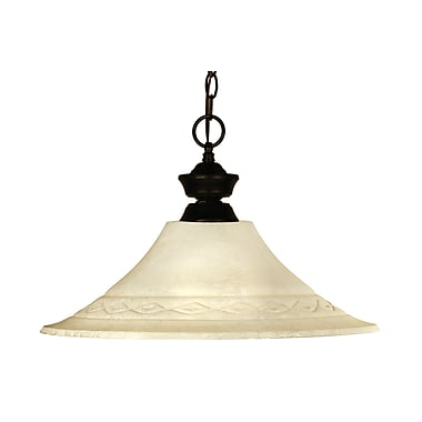 Z-Lite Chicago/Phoenix (100701BRZ-FGM16) 1 Light Pendant, 16